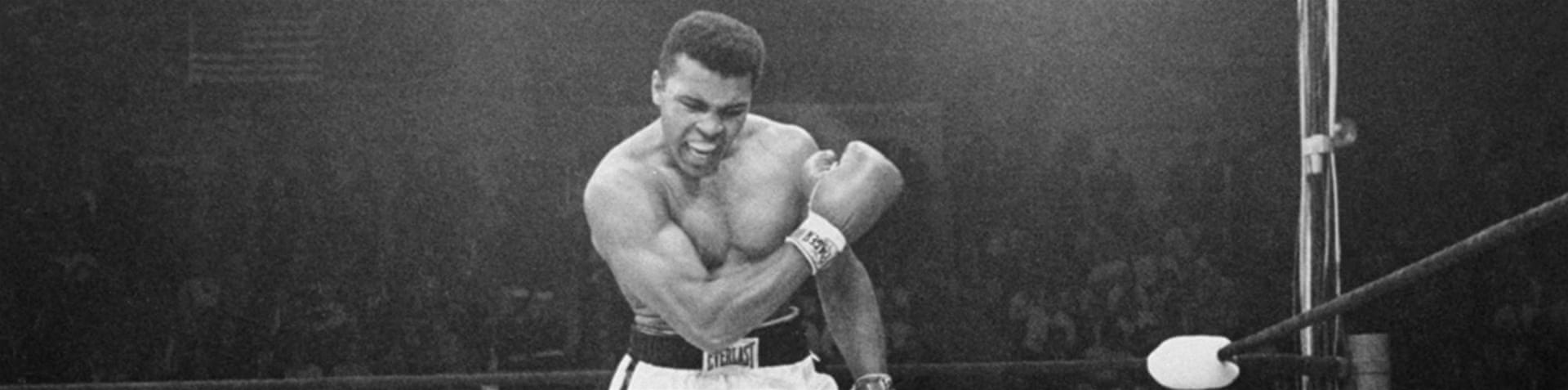 "Caption of photo on Ali's official Twitter page reads ""Muhammad Ali 1942 - 2016"" [Twitter]"