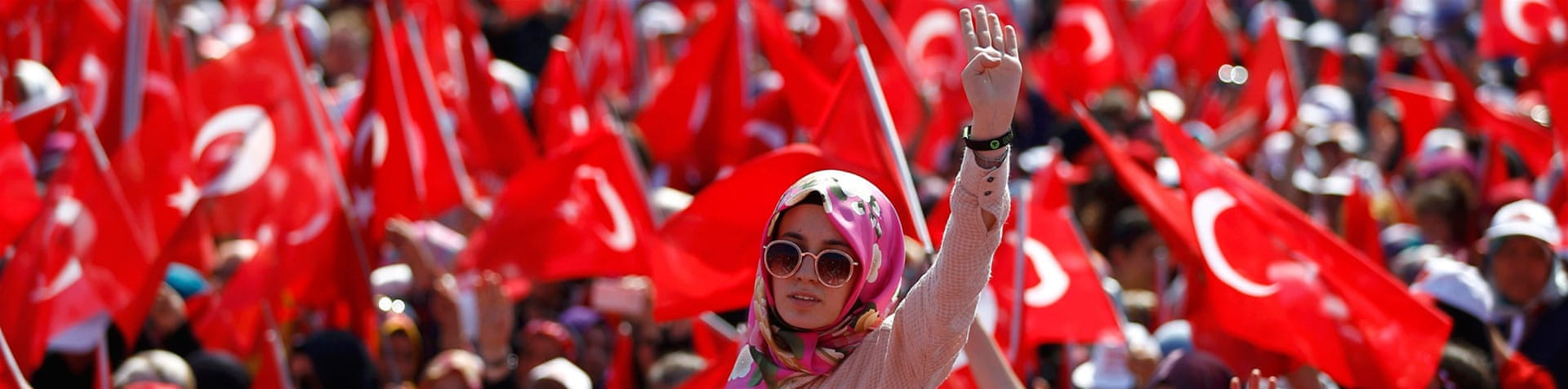 Aside from Istanbul, similar rallies were simultaneously held across the country on Sunday [Reuters]