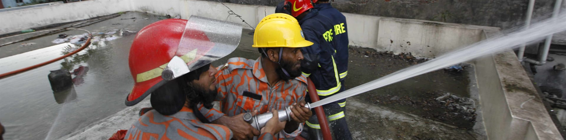 Weak fire protection systems are common in factories in Bangladesh [Mahmud Hossain Opu/Al Jazeera]