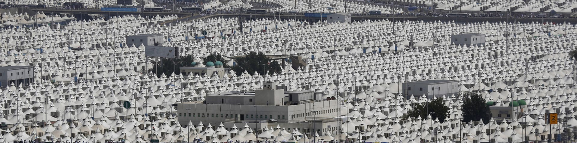 This year's Hajj is expected to be attended by more than 1.5 million Muslims [AP]