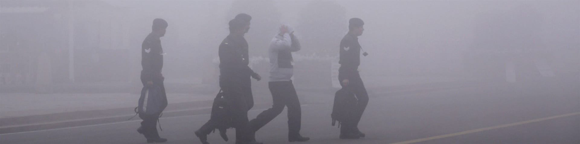 Visibility has been well below 500 metres across a good part of Punjab state and Uttar Pradesh  [AFP]