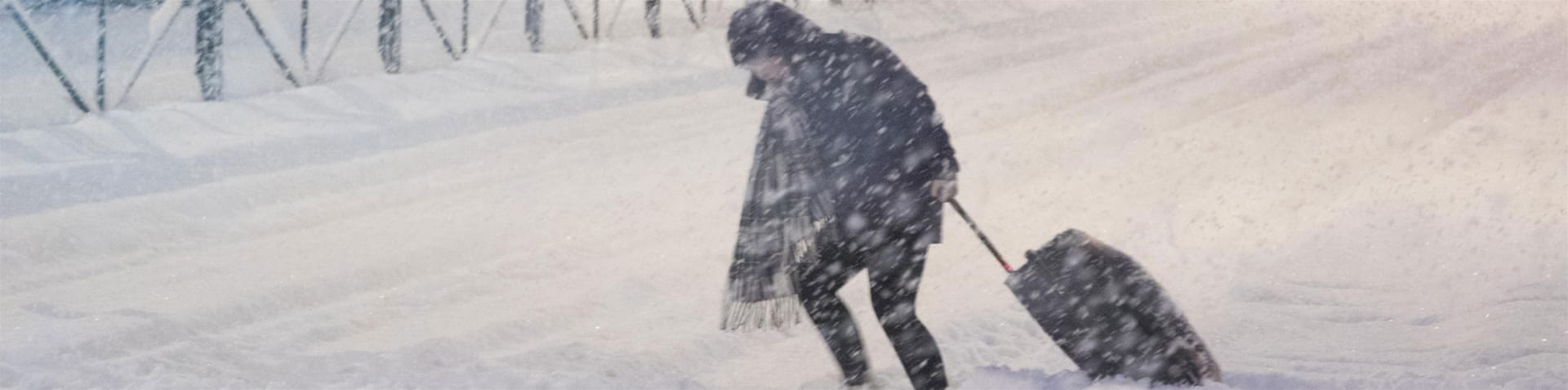 51cm of snow in 24 hours in Iceland's capital, Reykjavik [Gunnar Freyr]