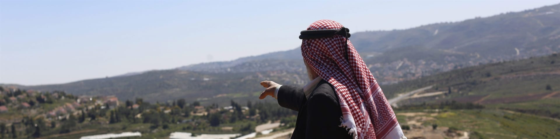 The law would allow Palestinians to remain owners of the land but they would not be granted any usage rights [Ariel Schalit/AP]