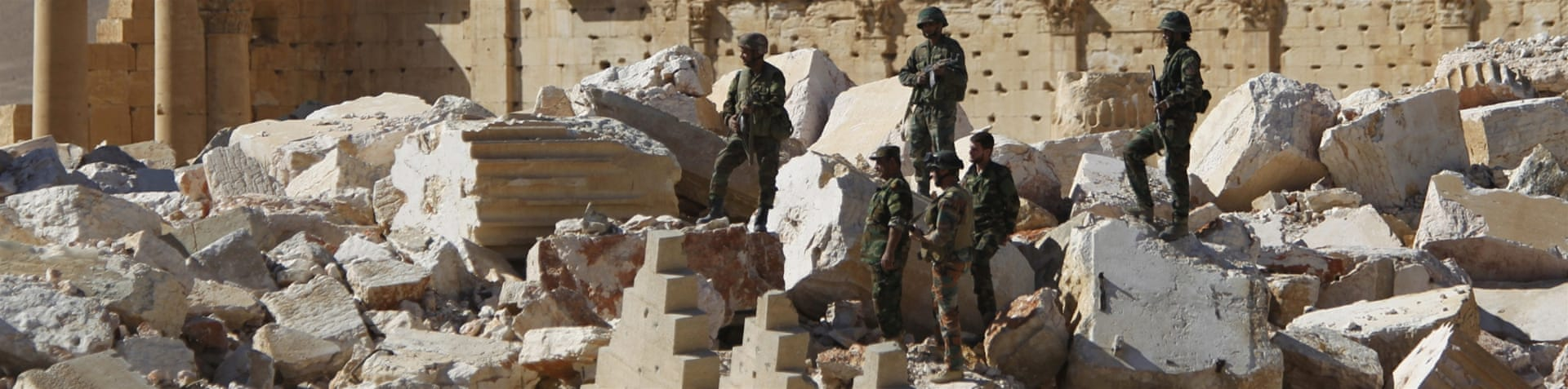 Syrian soldiers recaptured Palmyra from ISIL once before in April, 2016 [File: Omar Sanadiki/Reuters]