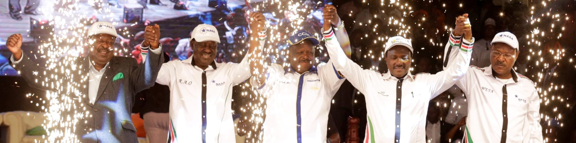 Odinga ran and was defeated in the 2007 and 2013 elections [Simon Maina/AFP]