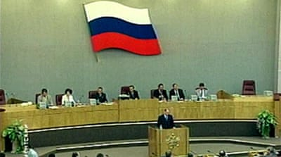 Russia MPs back longer presidency