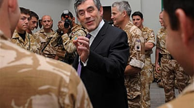 British prime minister in Iraq