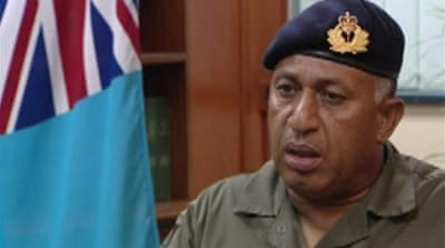 Pressure mounts over Fiji democracy