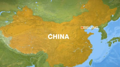 Children stabbed in China school