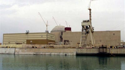 Iran conducts nuclear plant test