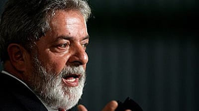 Brazil's Lula heralds Obama