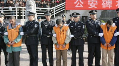 China reviews law on death penalty