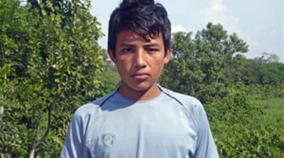 Colombian youth count cost of coca