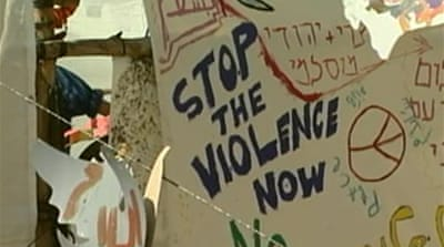 Video: Jewish-Arab tensions flare