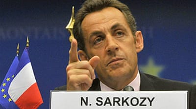 Sarkozy's new financial world order