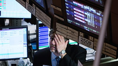 Markets plummet on recession fears