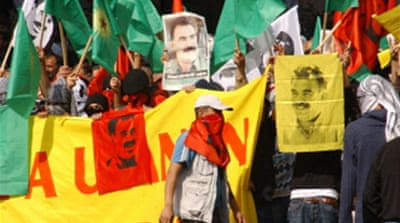 Kurds protest over Ocalan 'assault'