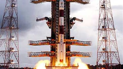 India launches first moon mission