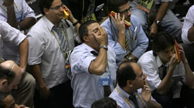 Markets slump amid recession fears