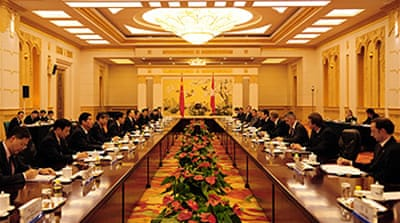 Financial woes to top Beijing talks