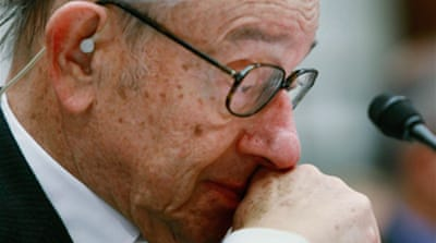 Greenspan admits 'flaw' in ideology