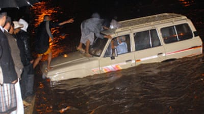 Dozens killed in Yemen floods