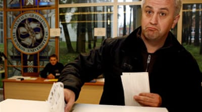 Lithuanians vote for new parliament