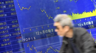 Nikkei plunges to 26-year low