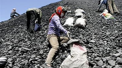 'Heavy cost' of China coal use