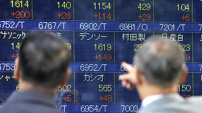 Asian markets rally after losses