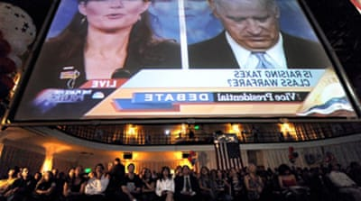 Palin-Biden debate draws millions
