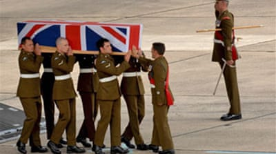 UK Afghan death toll passes 200