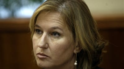 Livni urges action on peace talks