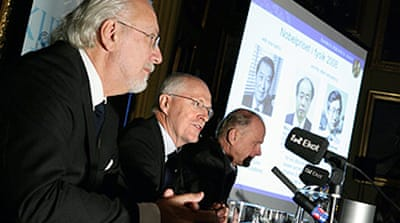 Three share Nobel prize in physics