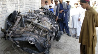 'Al-Qaeda targets' hit in Pakistan