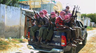 Somali fighters stone 'rape victim'