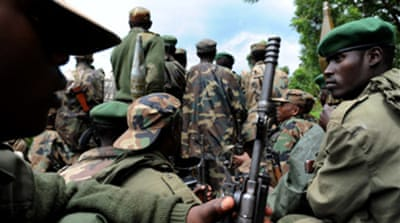 DR Congo rebels seize army base