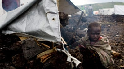 UN: 100,000 without aid in DR Congo