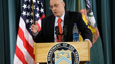 Paulson calls for US bailout change