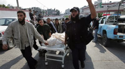 Palestinians killed in Gaza raid