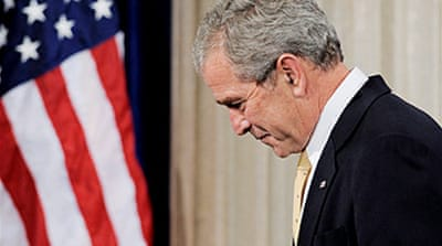 Bush warns of 'global meltdown'