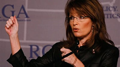 Palin urges Republicans to rebuild