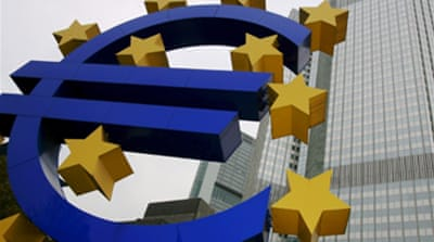 Eurozone slips into recession