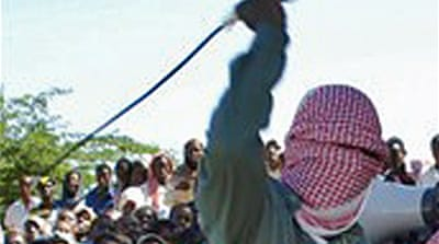 Dancers flogged by Somalia fighters