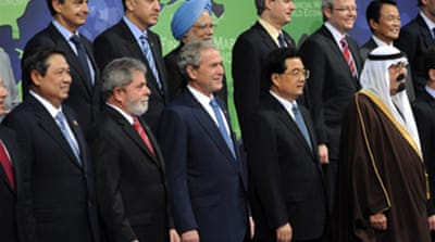 G20 agrees on financial action plan