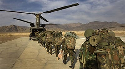 Afghanistan 'top priority' for US