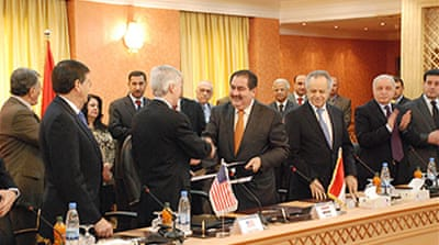 Iraq and US sign forces agreement
