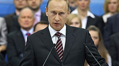 Putin tackles economy in key speech