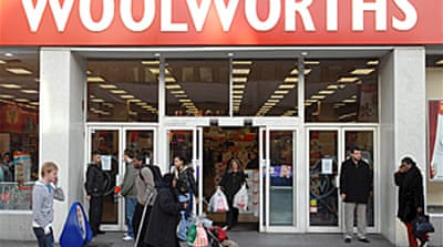 Woolworths UK shop in sales talks
