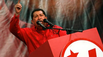 How much popular support does Hugo Chavez enjoy?